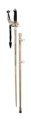 A Regimental 1897 Pattern Infantry Officer's Levee Sword