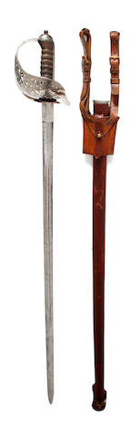 An Unsual 1897 Pattern Infantry Officer's Sword