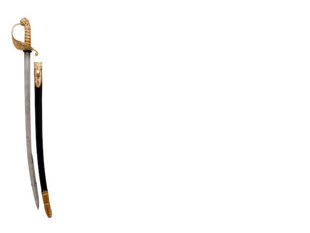 An 1827 Pattern Naval Officer's Sword