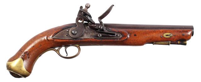 A Flintlock Service Pistol