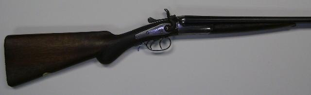 A Birmingham .410 hammer gun, no. Z13768