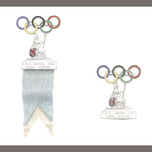 Evan Hunter - International Olympic Committee Badges