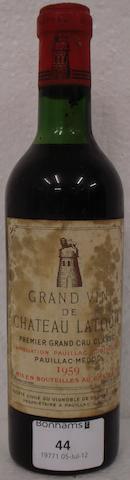 Chateau Latour  1959 (1 half-bottle)
