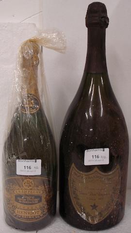 Henriot, Réserve Baron Philippe de Rothschild 1969 (1)<BR />Dom Pérignon 1978 (1 magnum)