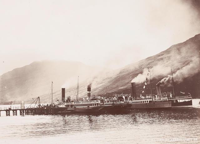 PHOTOGRAPH ALBUM West Highland Railway Album