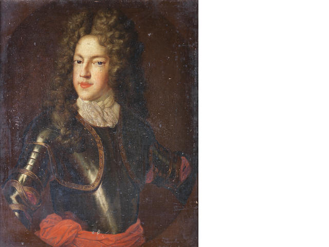 Circle of Alexis-Simon Belle (Paris 1674-1734) Portrait of James Francis Edward Stuart