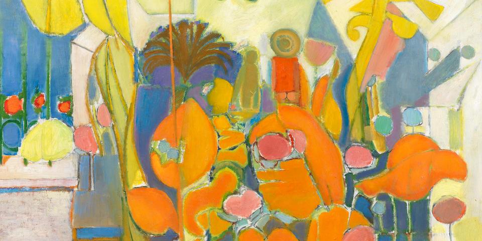 Stanley F. Pinker (South African, born 1924) The Garden of Eden unframed