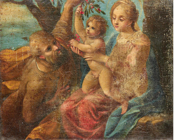 Italian School, 17th Century The Holy Family