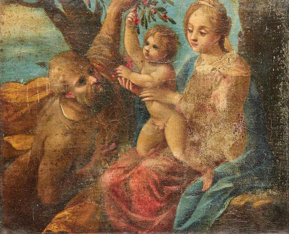 Italian School, 17th Century The Holy Family