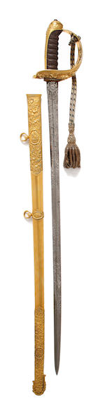 An Extremely Fine Rifle Officer's Presentation Sword