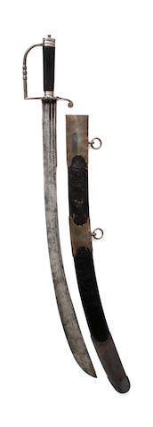 An Unusual Spadroon Hilted Sabre
