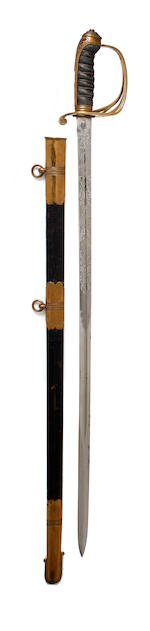 An 1845 Pattern Honourable Artillery Company Officer's Sword