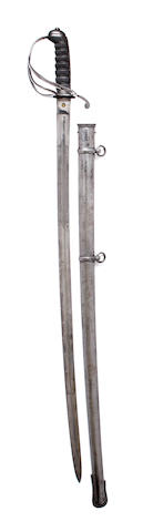 An 1821 Pattern Light Cavalry Presentation Sword of the West Essex Yeomany Cavalry