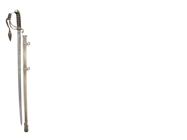 An 1821 Pattern Artillery Officer's Presentation Sword