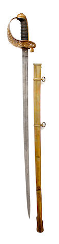 An 1857 Pattern Engineer Officer's Sword