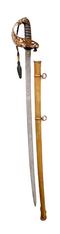 An 1857 Pattern Royal Engineers Officer's Sword