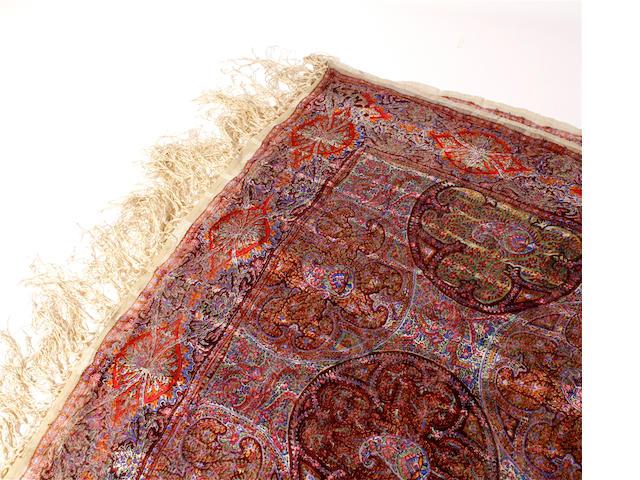 A printed gauze paisley shawl