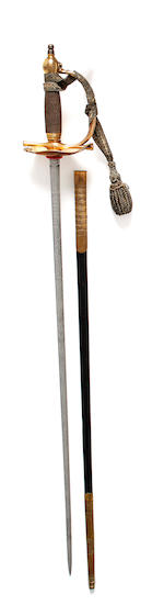 A Life Guards Officer's Full Dress Sword