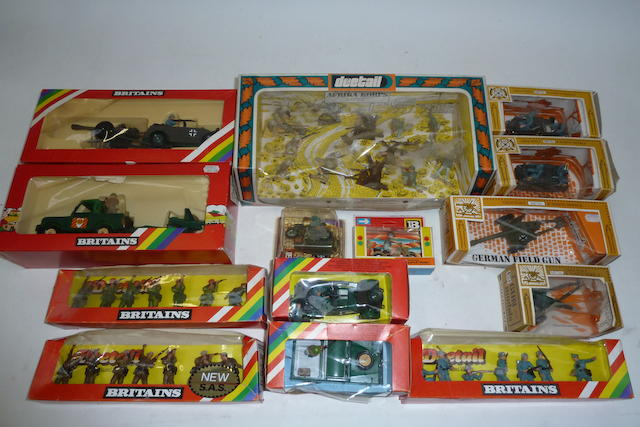 Britains plastic WWII and later Deetail, Vehicles and Guns 63