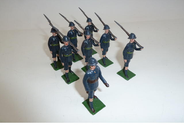 Britains RARE set 1900, Regiment Louw Wepener 8