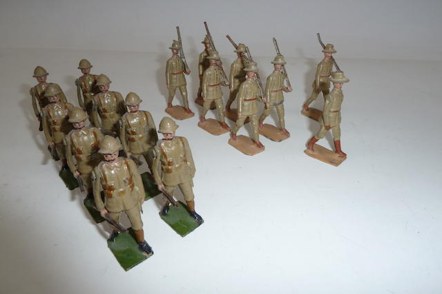 Britains set 110, Devonshire Regiment 16