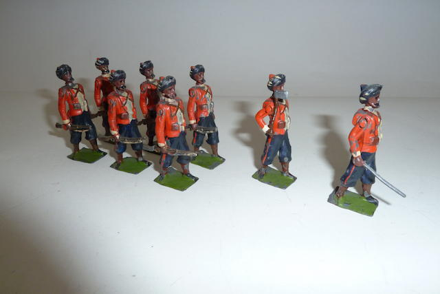 Britains set 67, 1st Madras Native Infantry 8