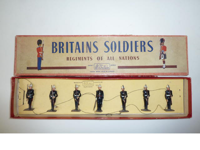 Britains set 2071, Royal Marines at Present 7