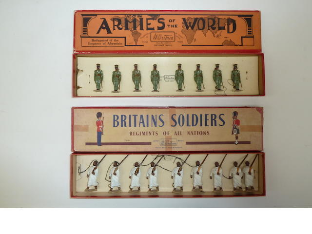 Britains set 1424, Bodyguard of the Emperor of Abyssinia 17