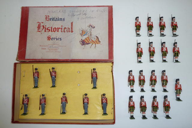 Britains Waterloo Highlanders 27