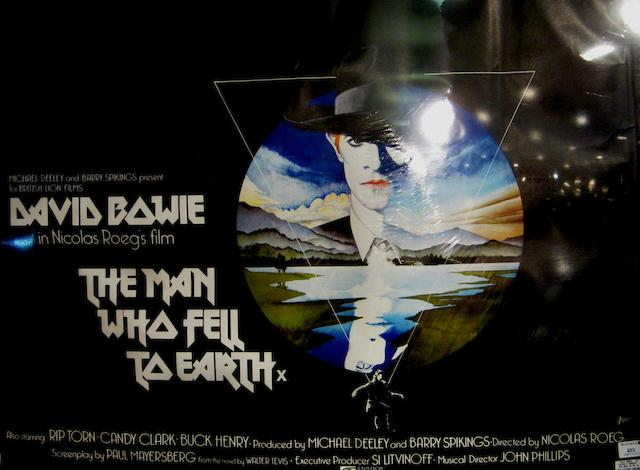David Bowie: The Man Who Fell To Earth,  British Lion, 1976,