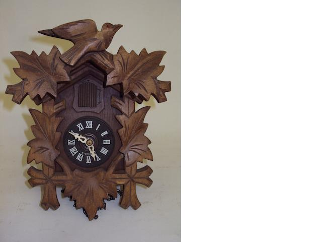 A modern Black Forest cuckoo clock
