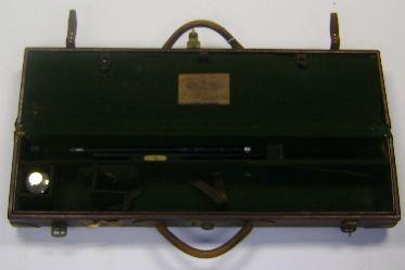 An early E.J. Churchill 'V.C.' leather double-guncase