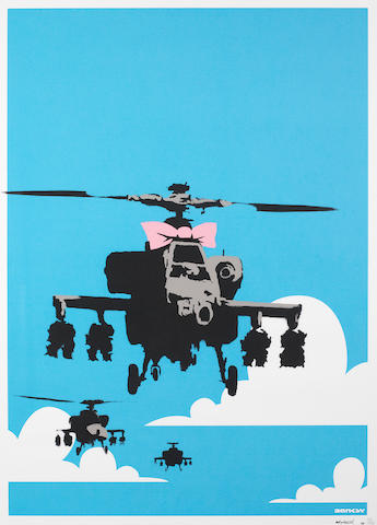 Banksy (British, born 1975) Happy Choppers