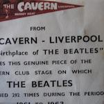 A piece of the Cavern stage and other Beatle memorabilia, 1960s,
