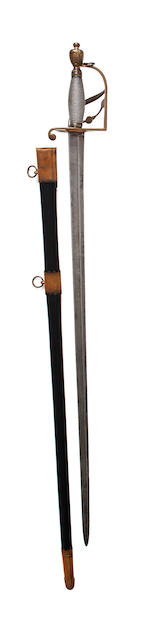 An Unusual Grenadier Officer's Sword