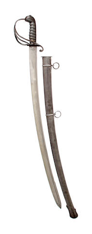 An 1821 Pattern Light Cavalry Officer's Sabre