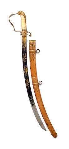 A Georgian Officer's Sabre