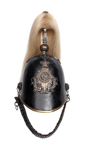 The Leicestershire Yeomanry (Prince Albert's Own) Officer's Helmet c1852-1870