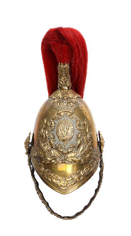 1st King's Dragoon Guards 1847 Pattern Trooper's Helmet