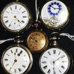 Five various pocket watches(5)