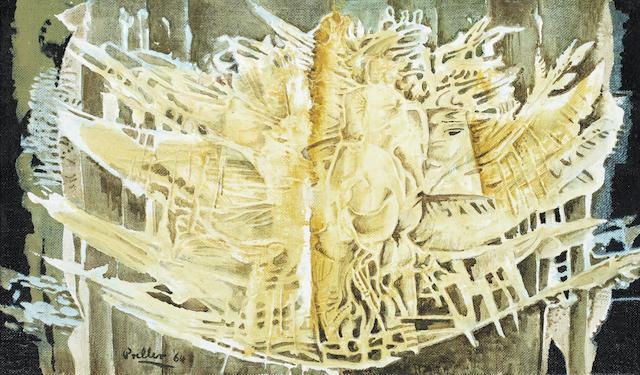 Alexis Preller (South African, 1911-1975) 'Phoenix Rising'