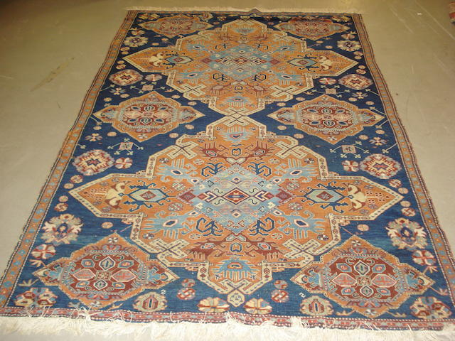 A Derbend rug, South East Caucasus, 246cm x 158cm