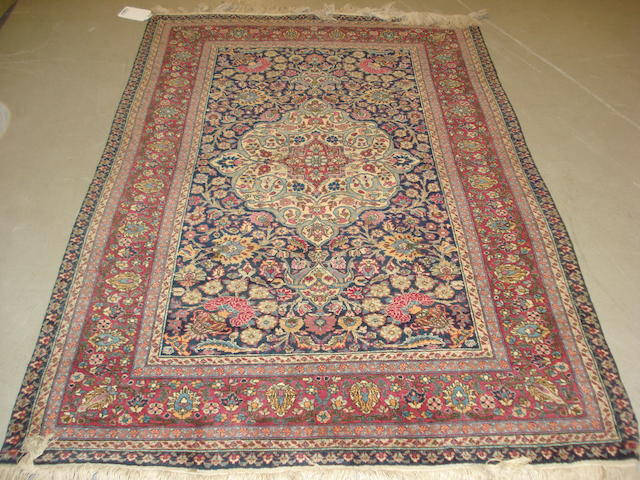 A Mashed rug,  North East Persia, 202cm x 130cm