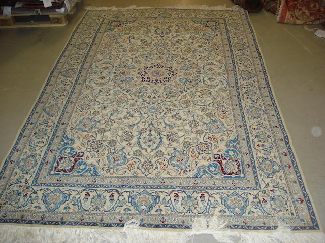 A Nain rug, Central Persia, 275cm x 128cm