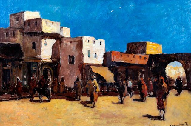 Claude Muncaster (British, 1903-1974) Rabat, Morrocco