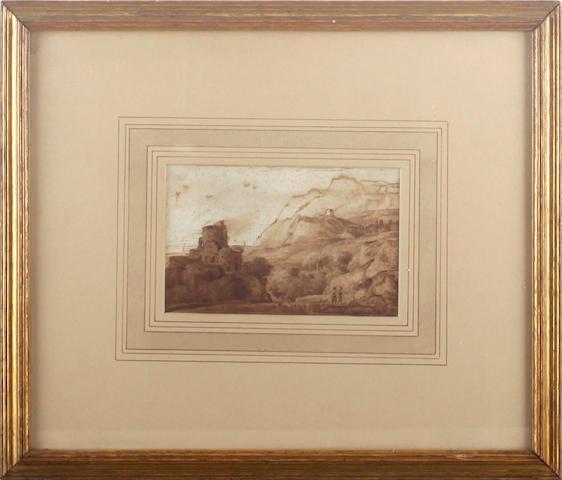 Follower of Ferdinand Kobell (Mannheim 1740-1799 Munich) Landscape