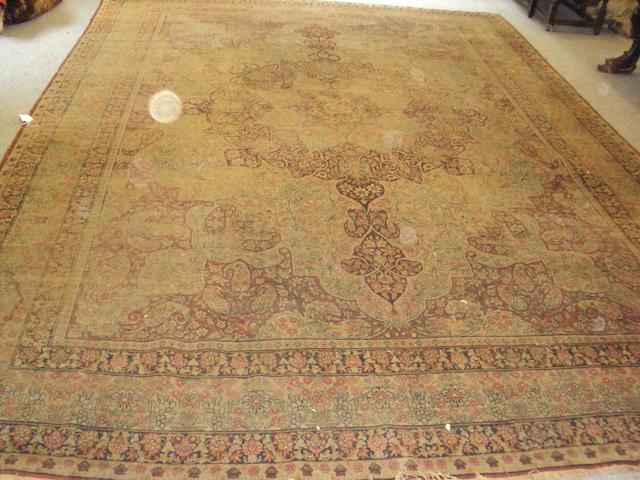 A North-West Persian carpet 430cm x 307cm.