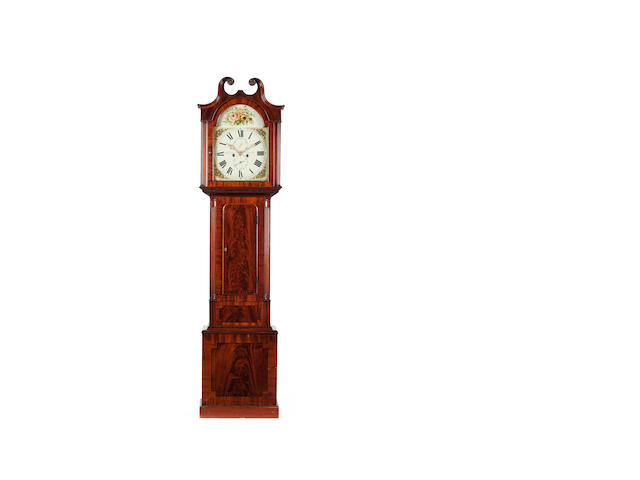 A late George III mahogany longcase clock, William Constable, Dundee