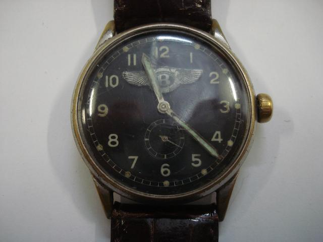 A Bentley wristwatch, 1930's,