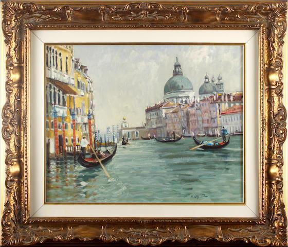 Alfredo Cappelin, 20th Century Grande canal, Venice